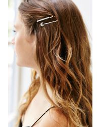 Urban Outfitters | Metallic Charm Bobby Hair Pin Set | Lyst