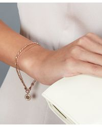 Astley Clarke - Metallic Rose Gold-plated Cosmos Biography Bracelet - Lyst