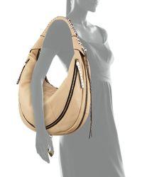 orYANY - Natural Jasmine Zip Hobo Bag - Lyst