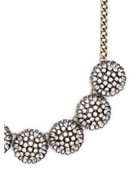 BaubleBar | Metallic Crystal Dandelion Collar | Lyst