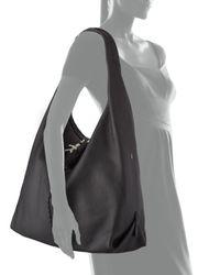 Henry Beguelin - Black Canotta Leather Hobo Bag - Lyst
