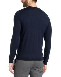 Ted Baker - Blue Bysical Fine Stitch Cardigan for Men - Lyst
