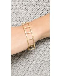 Madewell | Metallic Tracecraft Bangle Bracelet  Vintage Gold | Lyst