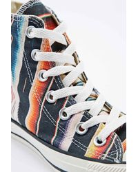 Converse | Blue Chuck Taylor Trainers in Multicolour | Lyst