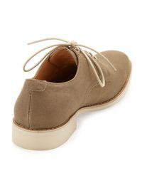 Jd Fisk - Brown Vincent Canvas Laceup Shoe Olive 8 12 for Men - Lyst