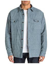 Quiksilver   Blue Waterman Ridgewood Shirt Jacket for Men   Lyst