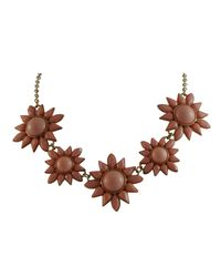 Ziba | Brown Vilma Necklace | Lyst