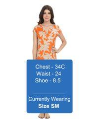 Tommy Bahama - Orange Paintbrush Palm Dress - Lyst