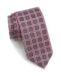 JZ Richards | Pink Woven Silk Tie for Men | Lyst