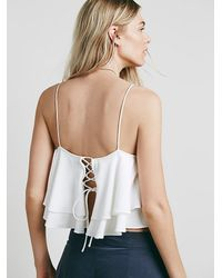 Free People | Natural Womens Tropical Wave Top | Lyst