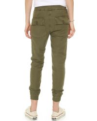 NLST - Green Utility Joggers - Lyst