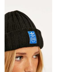 differently 6d39f 5c5ff adidas Black Fm Beanie in Black - Lyst