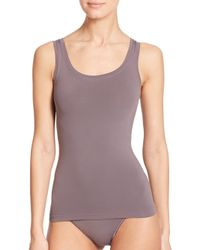 Hanro | Gray Touch Feeling Tank | Lyst