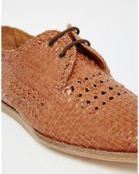 H by Hudson - Brown Barra Woven Shoes for Men - Lyst