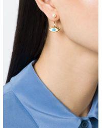 Delfina Delettrez | Blue Eye Piercing Earring | Lyst