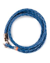 Miansai - Blue 'Trice' Bracelet for Men - Lyst