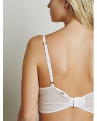 Free People - Pink X For Love And Lemons Womens Daisy Longline Underwire - Lyst