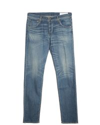 Rag & Bone - Blue Washed Jeans for Men - Lyst