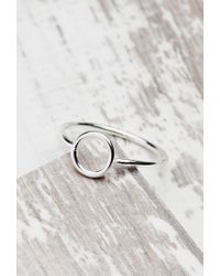 Forever 21 | Metallic Shashi Open Circle Ring | Lyst