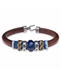 Platadepalo | Multicolor Classic Denim Leather Bracelet | Lyst