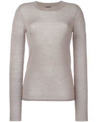 JOSEPH - Multicolor Fitted Sweater - Lyst