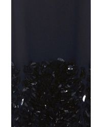 Mother Of Pearl - Blue Navy Embellished Bay Dress - Lyst