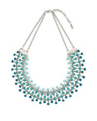 Hobbs - Blue Melina Necklace - Lyst
