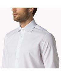 Tommy Hilfiger | White Jke Fitted Shirt for Men | Lyst