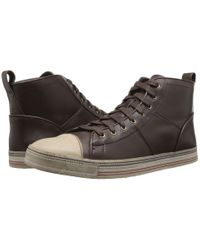John Varvatos | Brown Mick Sneaker Hi for Men | Lyst