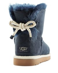 UGG | Selene Suede Boots - Blue | Lyst