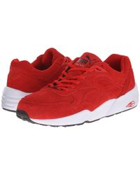 PUMA | Red R698 Allover Suede for Men | Lyst