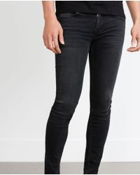 Zara | Black Skinny Jeans for Men | Lyst