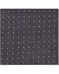 Brunello Cucinelli | Multicolor Dot-Patterned Pocket Square - For Men for Men | Lyst
