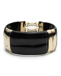 Alexis Bittar | Black Corset Hinge Bracelet With Mother Of Pearl Inlay You Might Also Like | Lyst