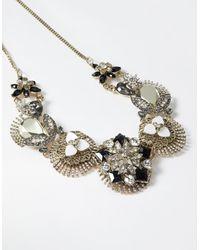 Accessorize - Black Eliza Statement Necklace - Lyst