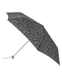 Accessorize Multicolor Multi Heart Superslim Umbrella
