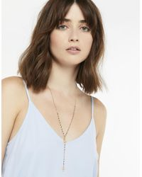 Accessorize - Metallic Rosary Bead Necklace - Lyst