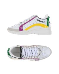 DSquared² | White Low-tops & Trainers | Lyst