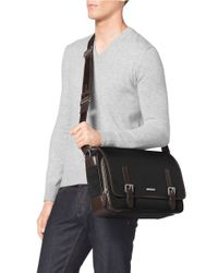 Michael Kors | Black Windsor Messenger Bag for Men | Lyst
