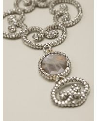 Roni Blanshay | Metallic Baroque Necklace | Lyst