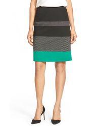 BOSS - Black 'manine' Pencil Skirt - Lyst