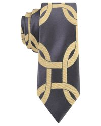 Sean John | Gray Exploded Rings Tie for Men | Lyst