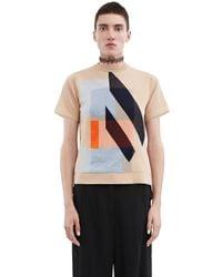 Acne Studios - Multicolor Basil Trans nougat Print for Men - Lyst