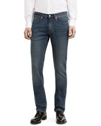 Acne | Blue Max Ultra Slim Tapered Jeans for Men | Lyst
