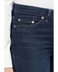 Acne Studios - Blue Flex Mid-rise Skinny Jeans - Lyst