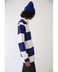 Acne - Nichols Face royal Blue / White for Men - Lyst