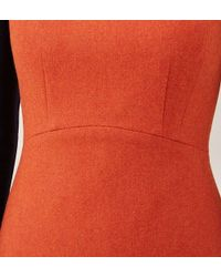 Hobbs | Orange Penny Dress | Lyst