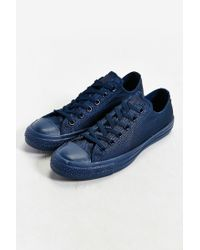 Converse | Blue Chuck Taylor All Star Mono Low-top Sneaker for Men | Lyst