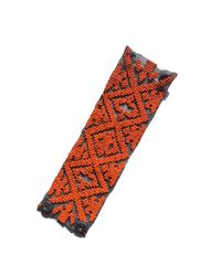 Mignonne Gavigan | Orange Ikat Bracelet Grey | Lyst