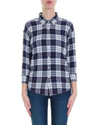 R13 - Multicolor Check Shirt - Lyst